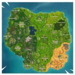 Carritos de golf fortnite mapa